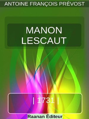 cover image of Manon Lescaut